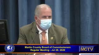 Martin County Board Regular Meeting July 28 part 2