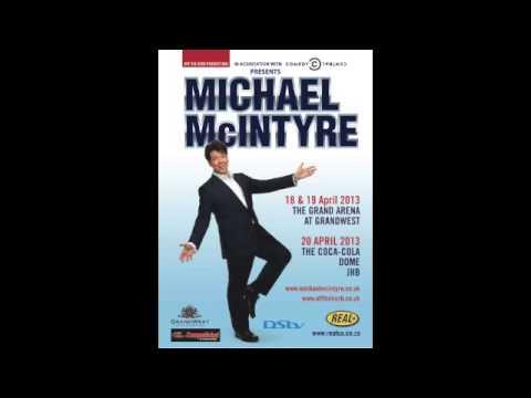 Michael McIntyre live in Johannesburg - Radio Spot