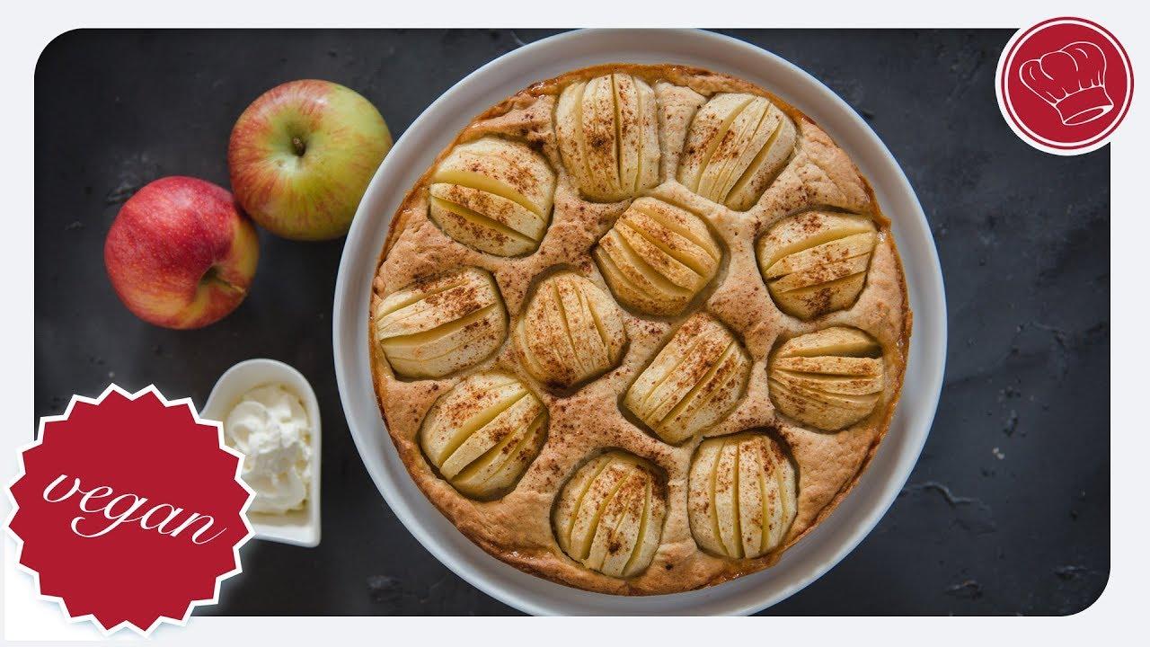 Veganer Apfelkuchen Aus Dem Thermomix Elegant Kochen De Youtube