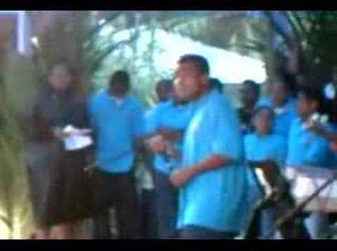 SONSOROL BOYZ Sing @ OBF 06 Palau