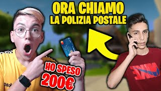 😱CON LA SUA CARTA SHOPPO TUTTO IL PASS...HA SPACCATO CAMERA SUA!!