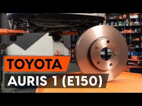 Как заменить передние тормозные диски на TOYOTA AURIS 1 (E150) [ВИДЕОУРОК AUTODOC]