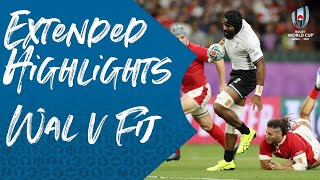 Extended Highlights: Wales 29-17 Fiji - Rugby World Cup 2019