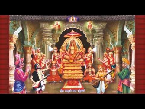 Dvaitavedantada Suvarna Yugakararu Sri Prahladarajaru Vyasarajaru Raghavendrara Bhakta Vatsalya