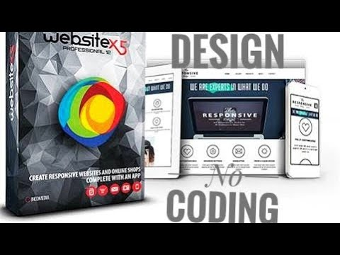 WebSite X5 PROFESSIONAL 14 , Website Creation without coding