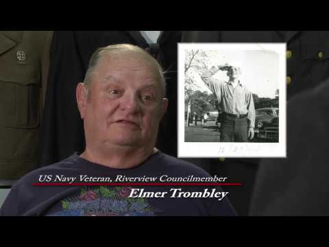 Veteran Elmer Trombley