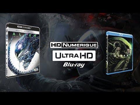 Alien : Comparatif 4K Ultra HD vs Blu-ray