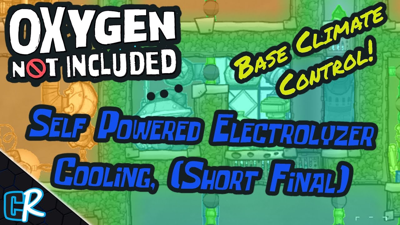 Self Powered Electrolyzer Cooling Systems Final Design - Oxygen Not  Included Guide