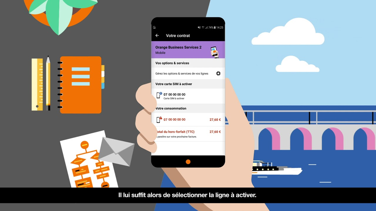 activer une carte sim orange 5 Application Orange Pro : activer votre carte SIM   YouTube