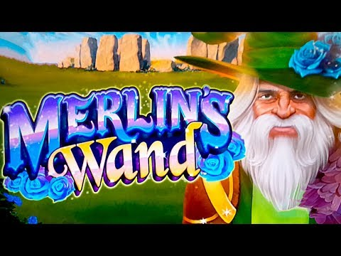 Merlin's Wand Slot - I GAVE IT MY BEST SHOT! - 동영상
