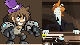Zombey kämpft in einem Raum. | Ludum Dare #2