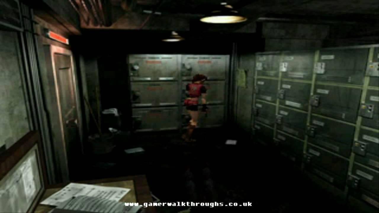 Resident Evil 2 Ps1 Walkthrough Red Jewel By Thegamerwalkthroughs