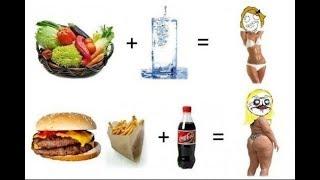 Целлюлит и Правильное Питание .#Целлюлит.