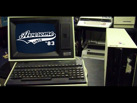 "Computer Restoration: Cifer 2486 Intelligent Terminal & 8"" disk drive, last used 1982! Part 1"