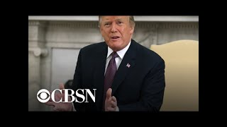 """Trump says U.S. in """"strong position"""" amid trade war with China"""