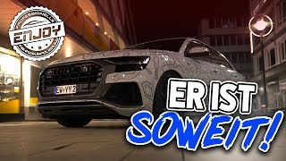 Enjoy Fahrzeugfolierung | Endlich ist der Audi Q8 Fertig!