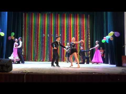 """КСТ """"Фаворит""""-"""" Галерея бального танца"""",  г.Бердянск (рук.Иван Козлов)"""