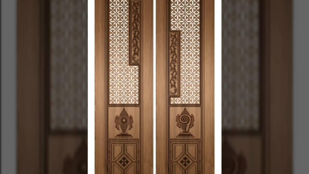 Pooja room door designs - poja doors 50 - home pooja room ...