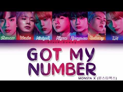 MONSTA X (몬스타엑스) - Got My Number (Color Coded Lyrics /Eng)