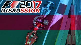 F1 2017 Baku, Aserbaidschan GP Renndiskussion (Twitch) | Chaos-Rennen mit Fotofinish