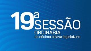 19° Sessão Ordinária da Décima Oitava Legislatura - TV CÂMARA ITANHAÉM