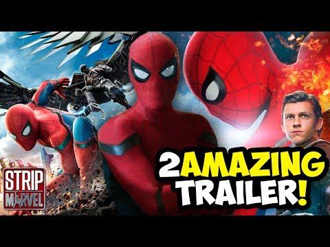 ¡AMAZING! Spider-Man Homecoming Tráiler 3  (Video-Reacción)   Strip Marvel