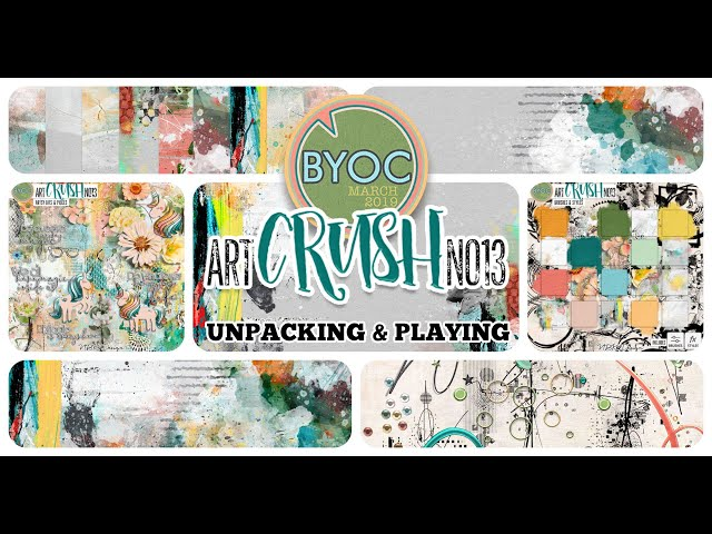 artCrush No13 - Unpacking + playing