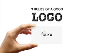 3 Rules of a Good Logo Design