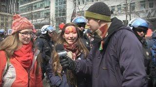 VOX POP - Guy Nantel à la manifestation étudiante