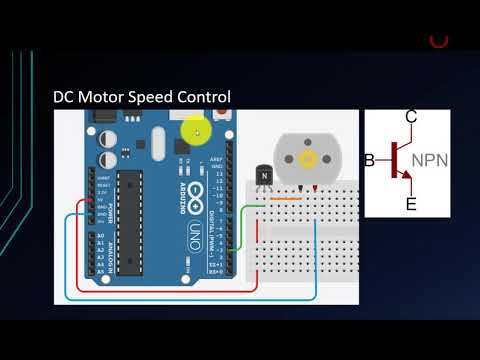Arduino Tutorial For Beginners 11 - Analog Signal Output (PWM) (Control Speed Of DC Motor)