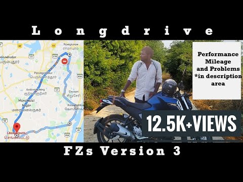 Why should you buy FZ V3??   Long drive test of the bike  Review