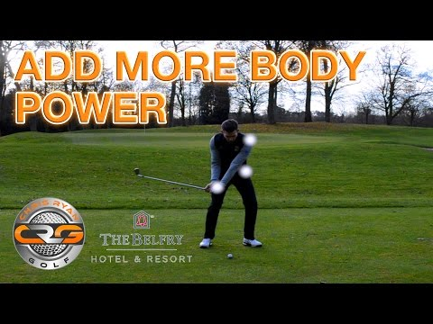 GOLF | USE THE BODY FOR MORE POWER