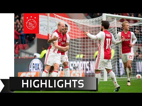 Highlights Ajax - sc Heerenveen