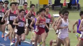 2017.6.4 日本体育大学長距離競技会 5000m 21組 敬称略 ○7716chuoチャネ...