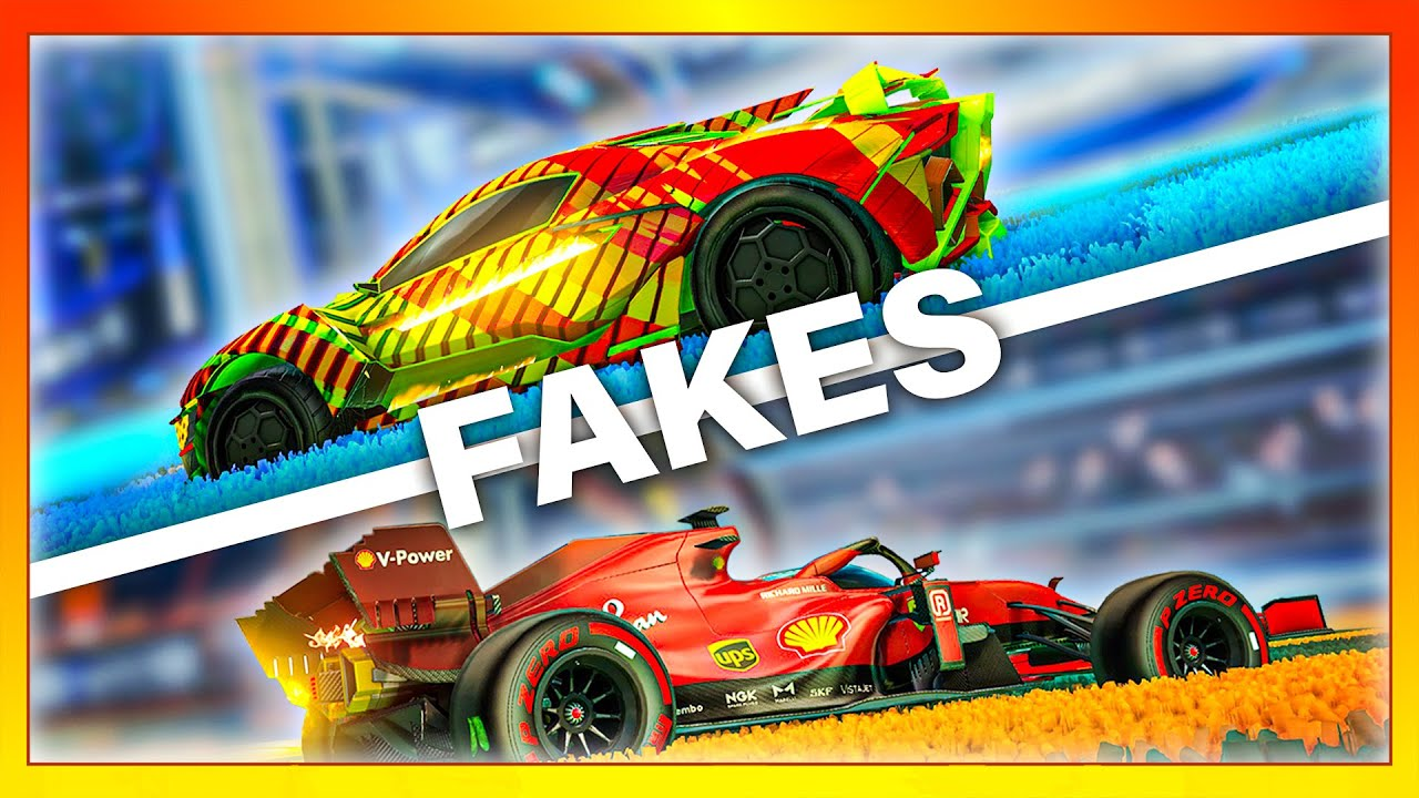 Download I faked my opponents with every car in Rocket League...