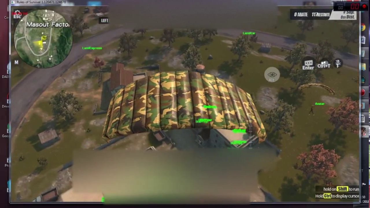 cheat in rules of survival pc
