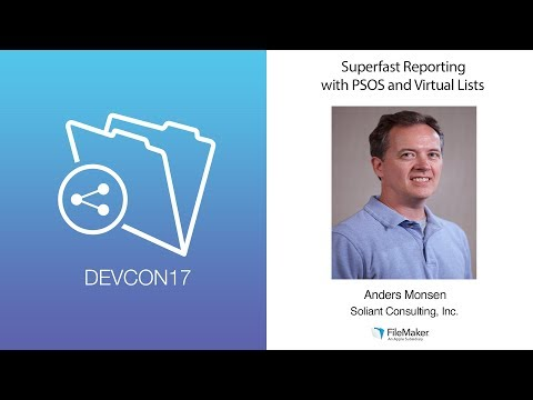 Superfast Reporting with PSOS and Virtual Lists (Advanced Tr
