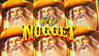 ★COUNTRY SANTAS!★ FIRST ATTEMPT ON WILD WILD NUGGET 🍳 Slot Machine (Aristocrat)