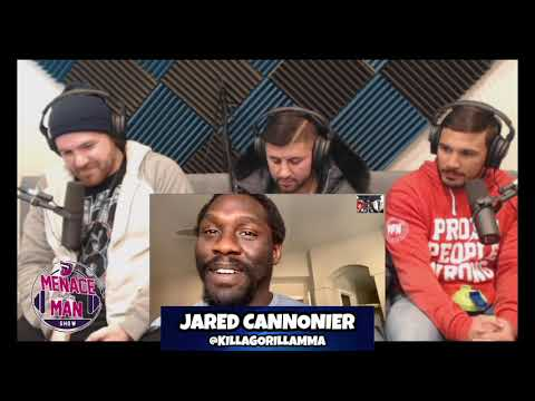 Episode 62 w/ UFC fighters Jared Cannonier, Brian Kelleher, Gilbert Burns & G Fuel's Sal Triolo