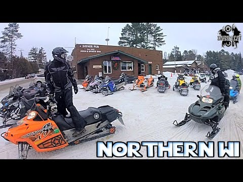 Minocqua To Sayner | Vilas Snowmobile Trails