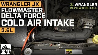 Jeep Wrangler JK Flowmaster Delta Force Cold Air Intake (2012-2018 3.6L) Review & Install