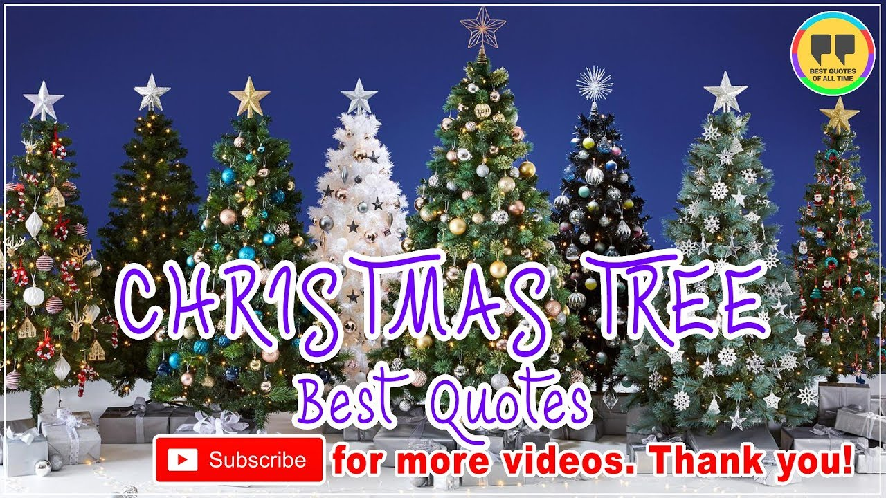 Top 100 Christmas Tree Quotes Best Christmas Quotes Youtube