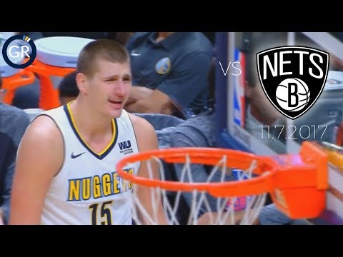 Joker's WILD! Nikola Jokic Torches the Nets - Full Box Score Highlights - 11.7.2017