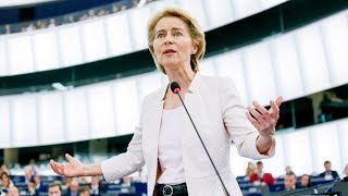 Ursula von der Leyen's bid for Parliamentary support