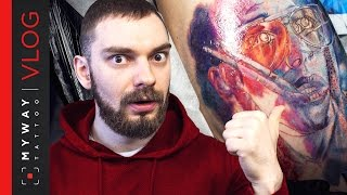 Реализм. Мастер-класс Каролины Фридман. Tattoo Timelapse