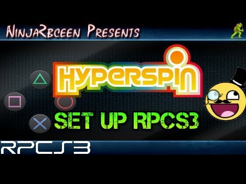 Hyperspin- Set up RPCS3