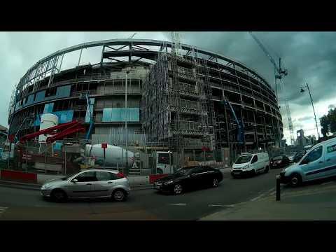 Tottenham's new stadium progress view as at 14th September 2017  #COYS