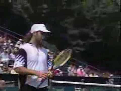 Smith vs Agassi Davis Cup 1993