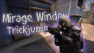 CS:GO - Mirage Windows Trickjump Bhop Tutorial! (Mouse&Keyboard Cam)
