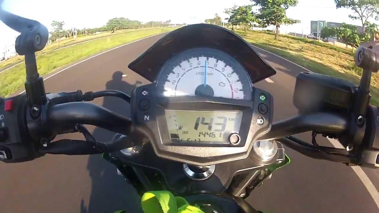 Kawasaki er6f top speed